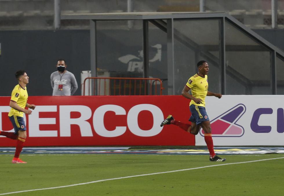 Colombia vapuleó a Perú por las Eliminatorias Qatar 2022 | Fotos: Violeta Ayasta / @photo.gec