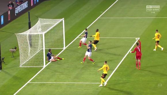 Romelu Lukaku registra 18 goles en sus últimos 16 encuentros con los 'Red Devils'. Fue uno de los goleadores del último Mundial. (Foto: captura de video)