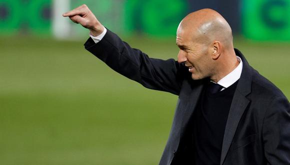 El mensaje de Zinedine Zidane a la plantilla de Real Madrid. (Foto: EFE)