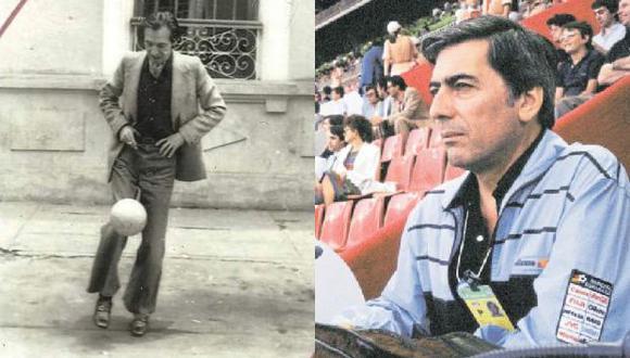 Julio Ramón Ribeyro y Mario Vargas Llosa: dos autores peruanos que han escrito sobre su afición por el fútbol.