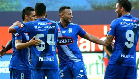 Emelec tricampeón del fútbol ecuatoriano tras empatar con Liga