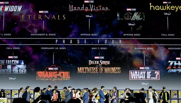 Fase 4 del MCU todos los personajes de las películas y series de la próxima etapa del Universo Cinematográfico de Marvel (Foto: Marvel Entertainment)