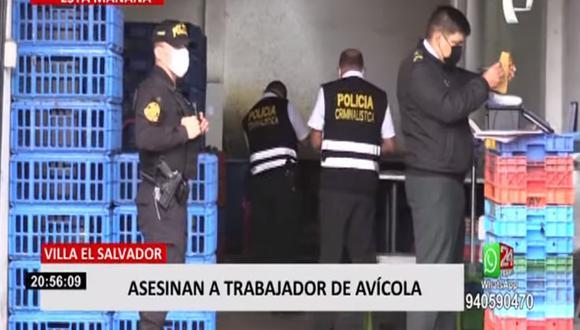 Leonardo Chuco Chagua habría opuesto resistencia al robo y, por esa razón, fue baleado por los hampones, quienes se llevaron 8 mil soles. (Foto: captura de video)