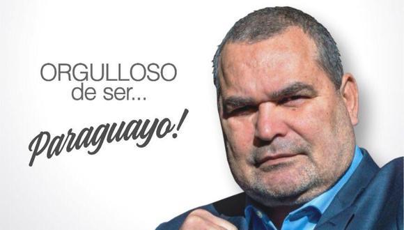 El slogan de José Luis Chilavert. (Foto: Twiter)