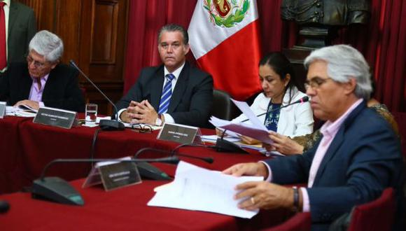La Comisión Lava Jato esperaba la presencia del fiscal anticorrupción Hamilton Castro, pero este no asistió. (Foto: Congreso de la República)