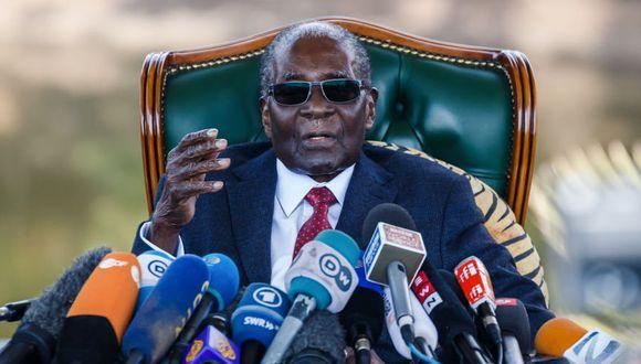 Zimbabue: Mugabe desea la derrota de su sucesor en presidenciales. (Foto: AFP)