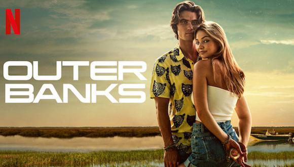 La búsqueda del tesoro marcará el destino de la relación entre John B y Sarah en Outer Banks. Foto: Netflix.