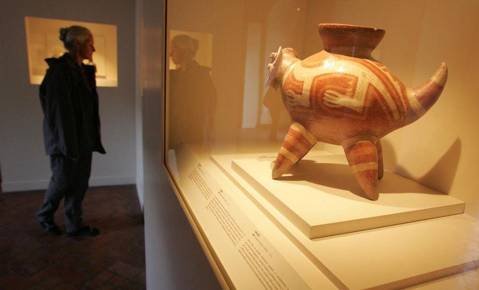 Museo de arte precolombino. (Foto: Archivo)