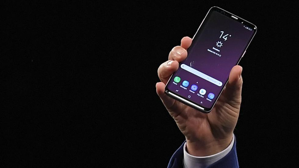 El Samsung Galaxy S9 cuesta US$ 934.22 en Perú. Solo en México está ligeramente más barato, con US$ 916.96. (Foto: AFP)