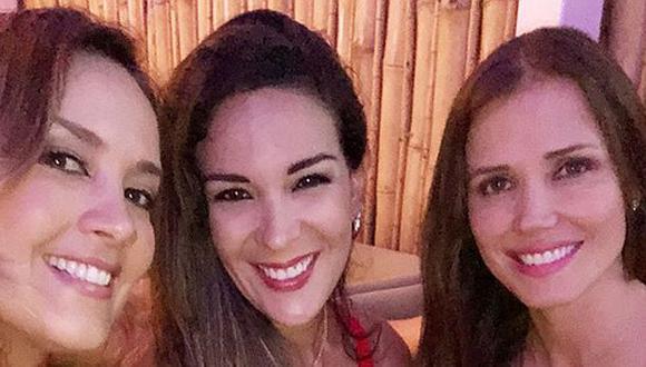 Marina, Silvia y Maju Mantilla. (Foto: Instagram)