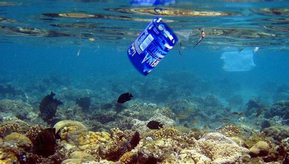 El sumidero marino contiene ya 150 millones de toneladas de plástico, que puestos en superficie ocuparían lo que el gigantesco estado norteamericano de Texas. (Foto: EFE)