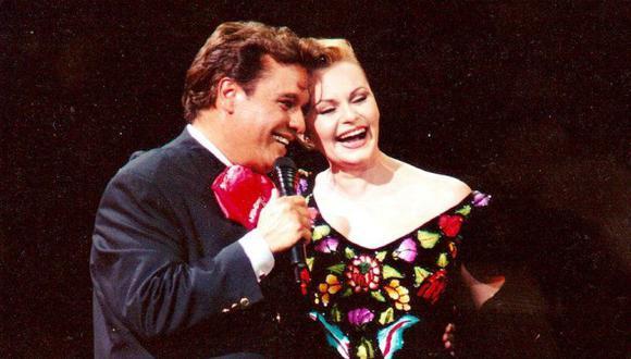 Rocío Dúrcal y Juan Gabriel fueron una gran dupla en los escenarios y tuvieron una gran amistad que terminó mal (Foto: Diario Las Américas)