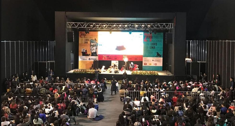 La Feria Internacional del Libro de Lima se realiza por estas fechas en el Parque Próceres de la Independencia, en el distrito de Jesús María   Foto: Facebook / FIL Lima 2019