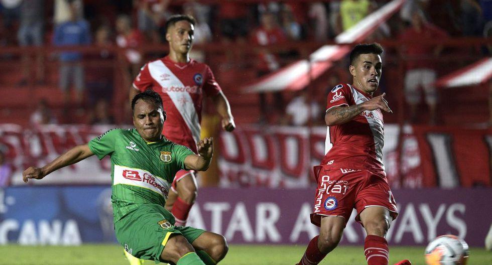 Sport Huancayo vs Argentinos Juniors, por Copa Sudamericana
