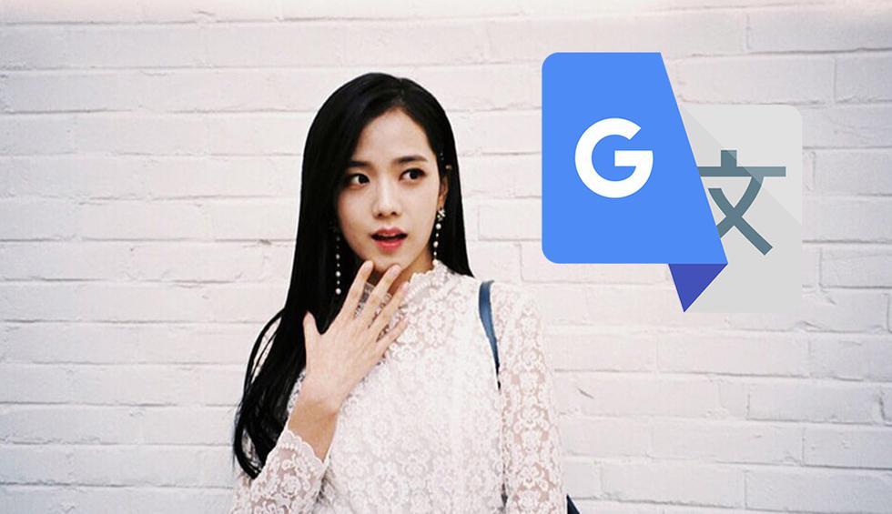 ¿Qué significa Jisso para Google Translate? Traductor juega una mala pasada a integrante de la agrupación BlackPink. (Foto: Google)