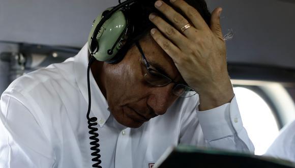 Martín Vizcarra es investigado en la Fiscalía de la Nación por el caso de las dosis de vacunas de Sinopharm. (Foto: Grupo El Comercio)