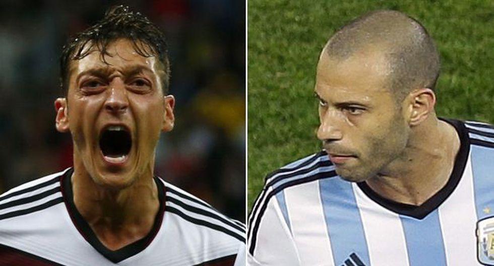 Alemania ya le ganó a Argentina en los números del Mundial