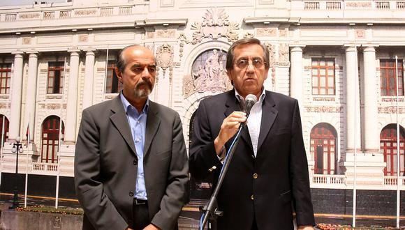 Jorge del Castillo señaló que Mauricio Mulder no puede ser invitado como parte de la lista para las elecciones. (Foto: GEC)