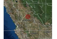 Huancavelica: sismo de magnitud 4,0 se registró en distrito de Conayca