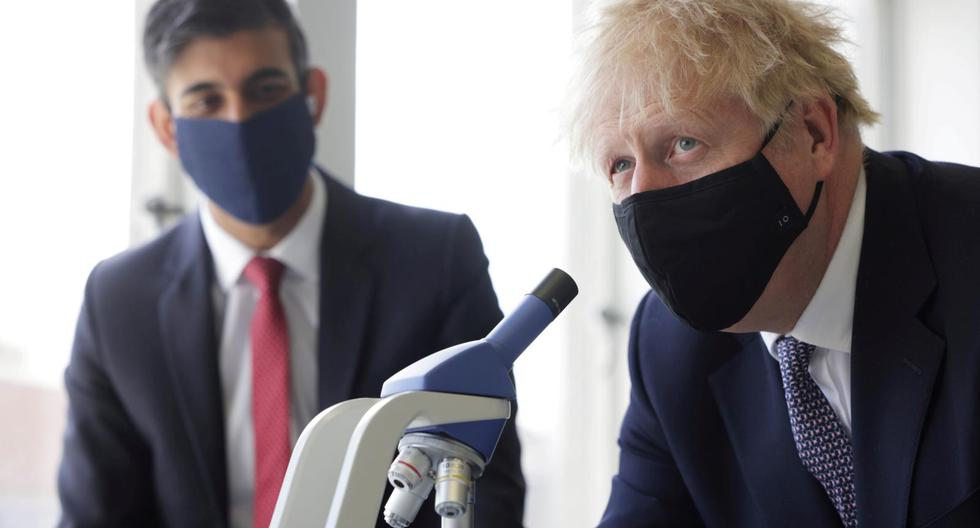 Boris Johnson will quarantine after being in contact with a Covid-19 positive case