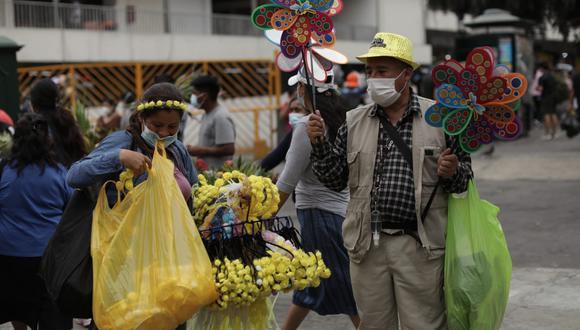 """""""La pandemia está acelerando y haciendo más visible una transformación de la economía"""".  (Anthony Niño de Guzmán / @photo.gec)"""