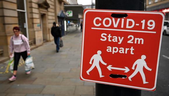 Coronavirus en Reino Unido | Últimas noticias | Último minuto: reporte de infectados y muertos hoy, sábado 31 de octubre del 2020 | Covid-19 UK | (Foto: Paul ELLIS / AFP).