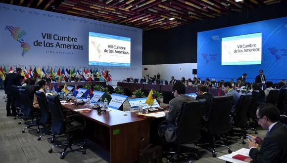 En las dos anteriores ediciones de la Cumbre de las Américas en Panamá (2012) y Colombia (2015) no se llegó a realizar una declaración consensuada.Martín Vizcarra se expresó confiado de que en Lima se logre una. (Foto: Difusión)