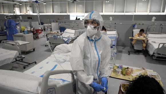 Coronavirus en España | Últimas noticias | Último minuto: reporte de infectados y muertos hoy, lunes 8 de febrero del 2021. | Covid-19 | (Foto: OSCAR DEL POZO / AFP).