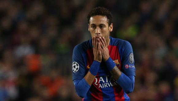 """Un reporte del medio """"Sport"""" aseguró que Neymar se siente incómodo en el Barcelona por culpa de Messi. En tanto, """"Marca"""" indicó que París-Saint Germain está dispuesto a negociar con el brasileño. (Foto: AFP)"""