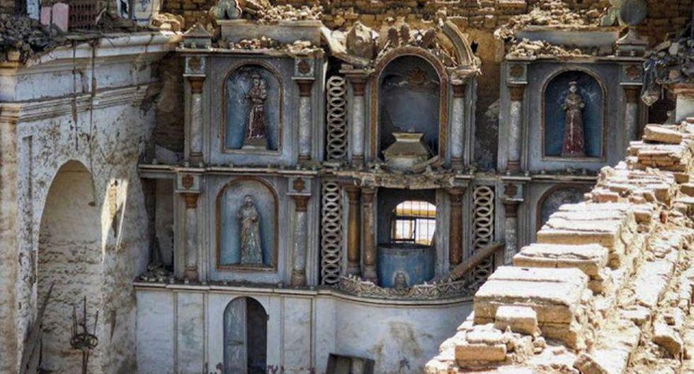 Iglesia de San Pedro de Coayllo. FOTO: Lima La Única.
