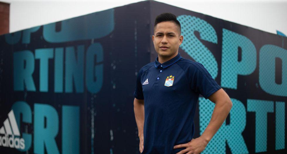 Jesús Pretell, mediocampista de Sporting Cristal, fue el futbolista más joven con Perú en la Copa América. (Foto: Fernando Sangama / El Comercio)