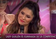"""""""Reinas del Show"""": Lady Guillén es eliminada y Vania Bludau, Milena Zárate y Diana Sánchez se van a sentencia"""