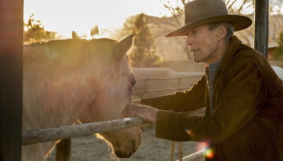 "Clint Eastwood en una escena de ""Cry Macho"", filme que entra hoy a la cartelera limeña (Foto: Claire Folger/Warner Bros. Pictures via AP)"