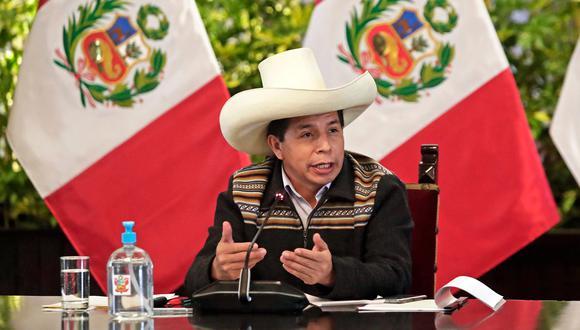 Pedro Castillo está autorizado para permanecer fuera del Perú hasta el 22 de setiembre. Foto: Presidencia