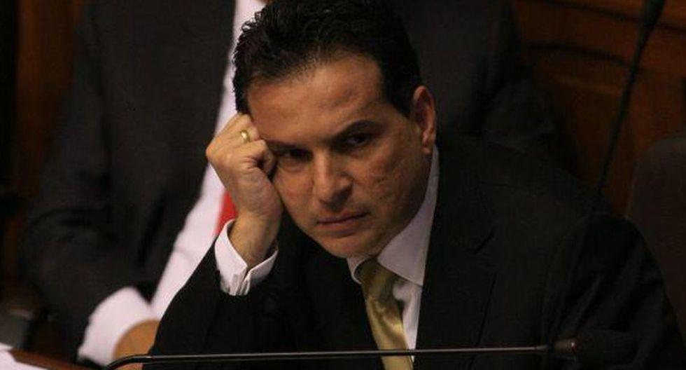 Omar Chehade dice que no le consta que se haya comprado testigos cuando él fue abogado de Ollanta Humala. (Foto El Comercio)
