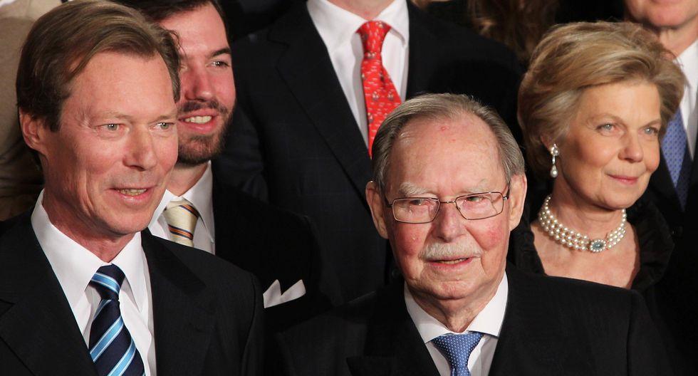 Juan de Luxemburgo (derecha) nació el 5 de enero de 1921. (Foto: EFE)