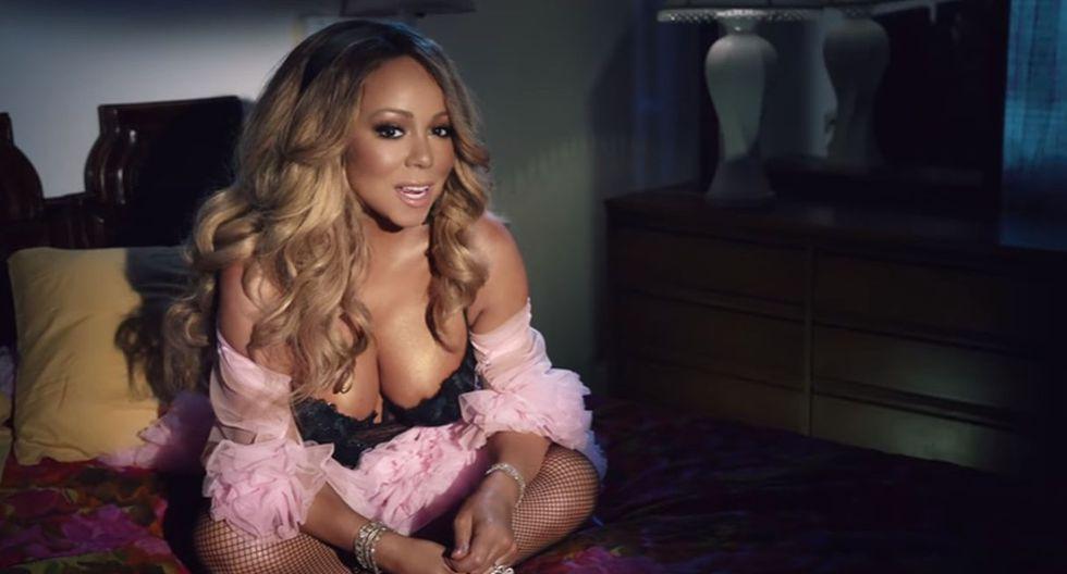 Mariah Carey lanzó el último jueves la canción 'GTFO', primer sencillo del álbum que publicará este año. (Foto: Captura de video)