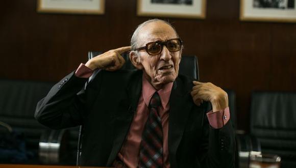 Marco Aurelio Denegri, polígrafo. (Foto: El Comercio)