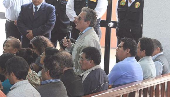 Juez dicta prisión preventiva a seis dirigentes del Movadef
