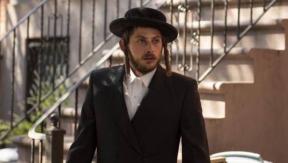 Amit Rahav como Yanky Shapiro en Poco Ortodoxa. Foto: Netflix.