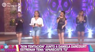 "Daniela Darcourt y Son Tentación estrenan canción ""Apareciste tú"""