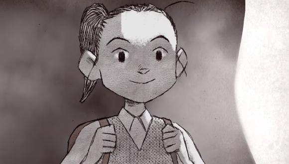 Las sombras de los padres intentan evitar que la niña de 10 años acuda a la escuela, pero no lo consiguen (Foto: Netflix)