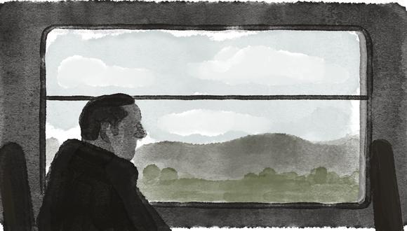 """""""Todo sucedió en 1963, todavía guardo la carta de don Gregorio"""". (Ilustración: Víctor Aguilar)"""