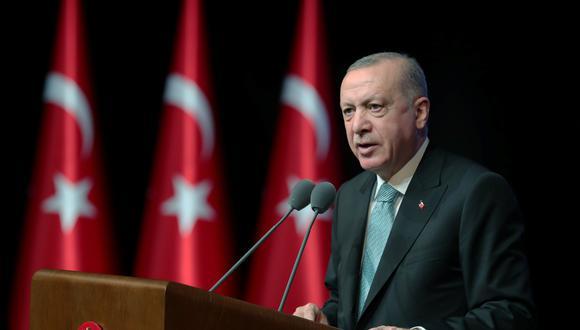 El presidente de Turquía Recep Tayyip Erdogan. (REUTERS).