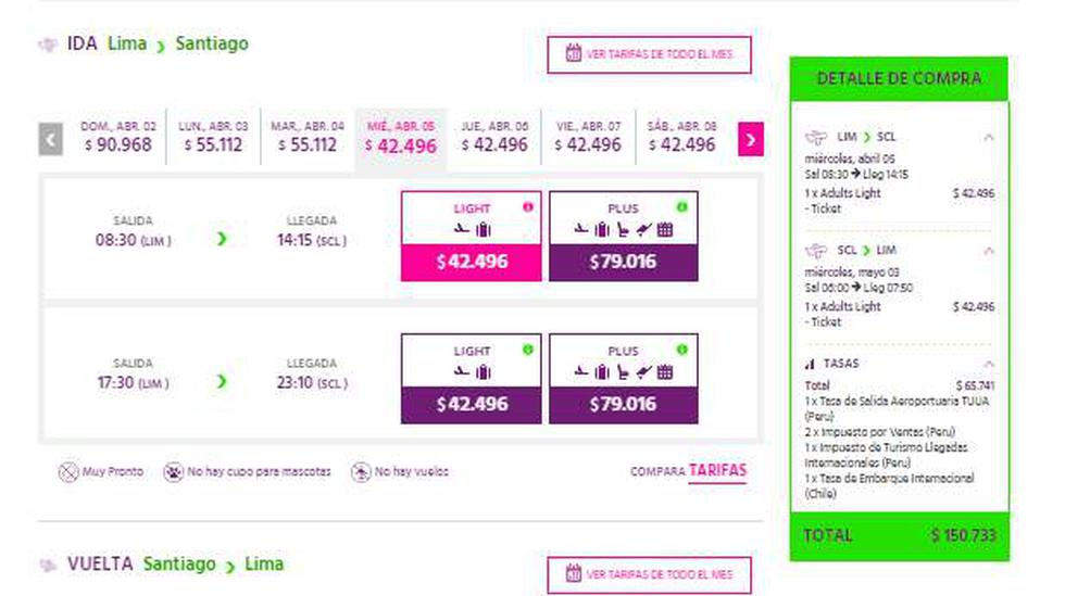 Sky Airline se estrena como low cost con oferta Lima-Santiago - 2