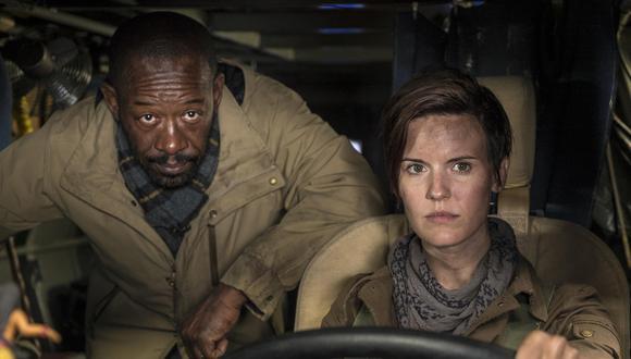 """""""Fear The Walking Dead"""" contará con Morgan Jones (Lennie James), personaje de la serie original. También llega Maggie Grace como la sobreviviente Althea. (Foto: Difusión)"""