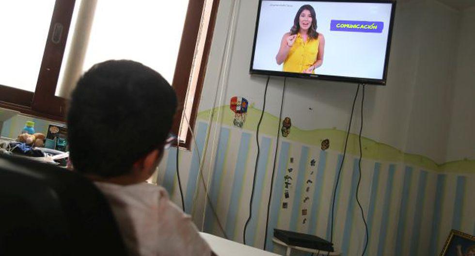 Programa a distancia Aprendo en casa está dirigido a los niveles inicial, primaria y secundaria hasta que se retome la modalidad presencial.  (Foto: GEC)