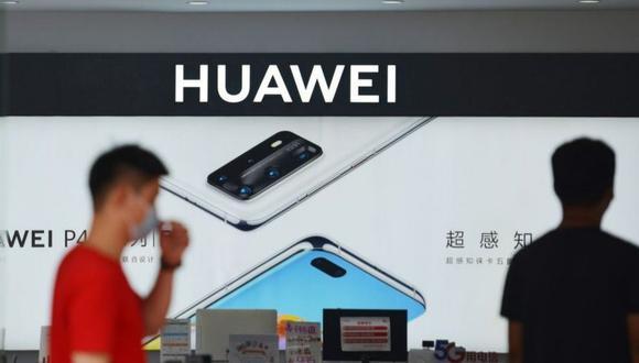 Tienda de Huawei. (Foto: Getty)