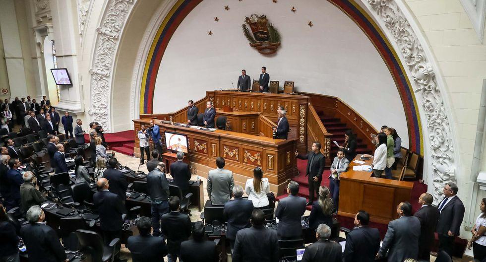 Congreso de Venezuela: Lo ocurrido en Cotiza muestra el descontento de las Fuerzas Armadas. Foto: Archivo de EFE