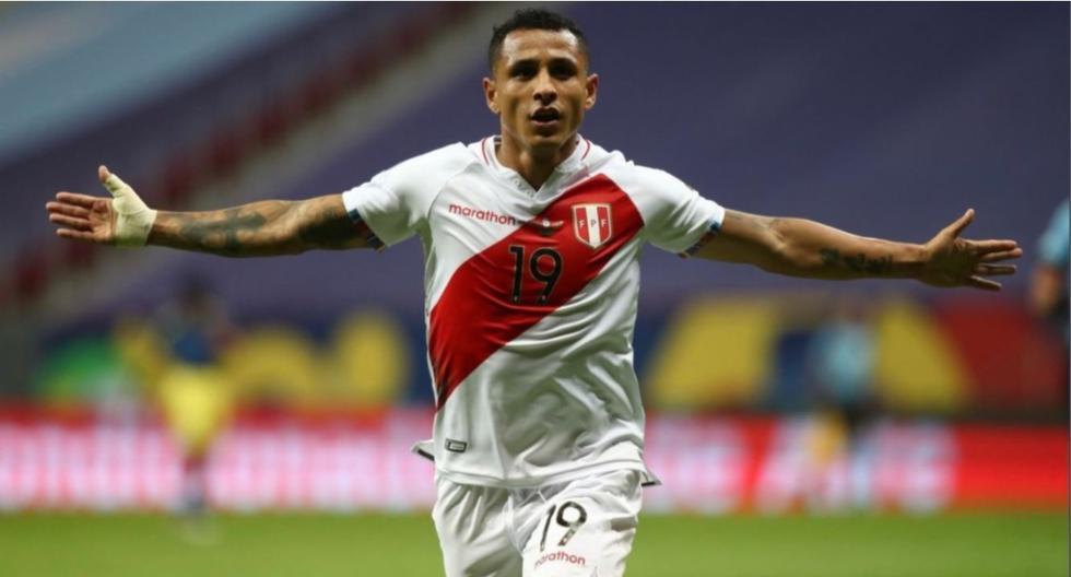 Yotún marcó dos goles en la Copa América 2021: ante Paraguay y Colombia. (Foto: FPF)